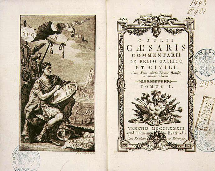 Commentarii de Bello Gallico by Julius Caesar