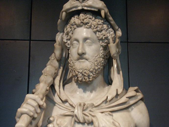 Commodus as Hercules.