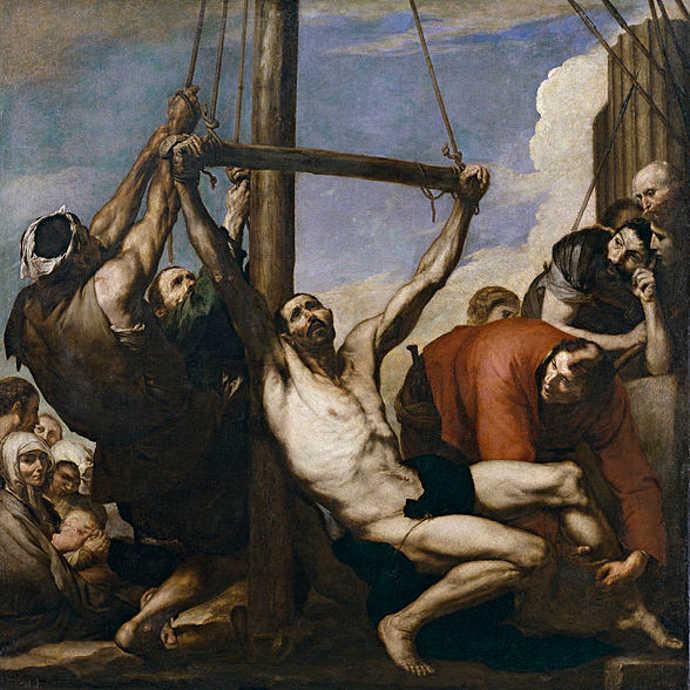 Ancient crucifixion
