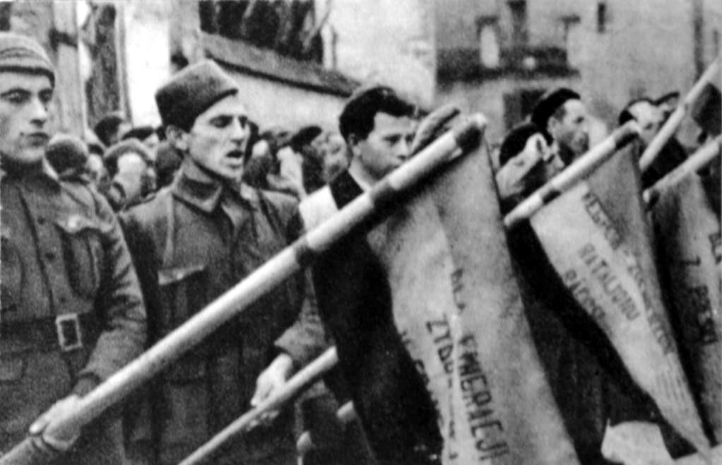Polish volunteers in the International Brigades