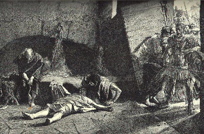 Death of Ancient Roman Emperor Nero
