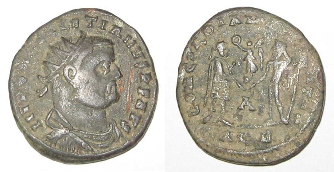 An economic downturn was one of the issues that Diocletian faced as he began his rule.