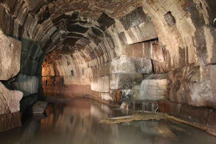 Cloaca Maxima sewer in Rome