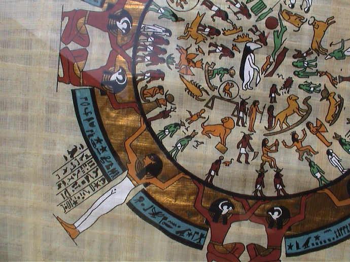 An Ancient Egyptian calendar