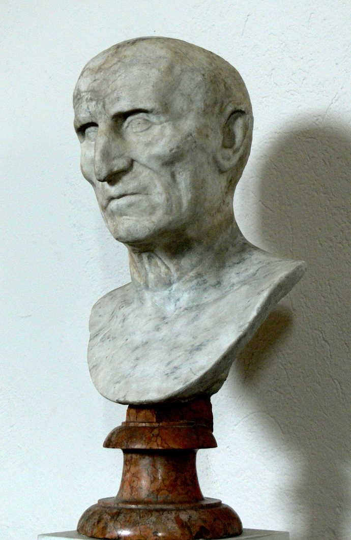 Bust of Ancient Roman Emperor Galba