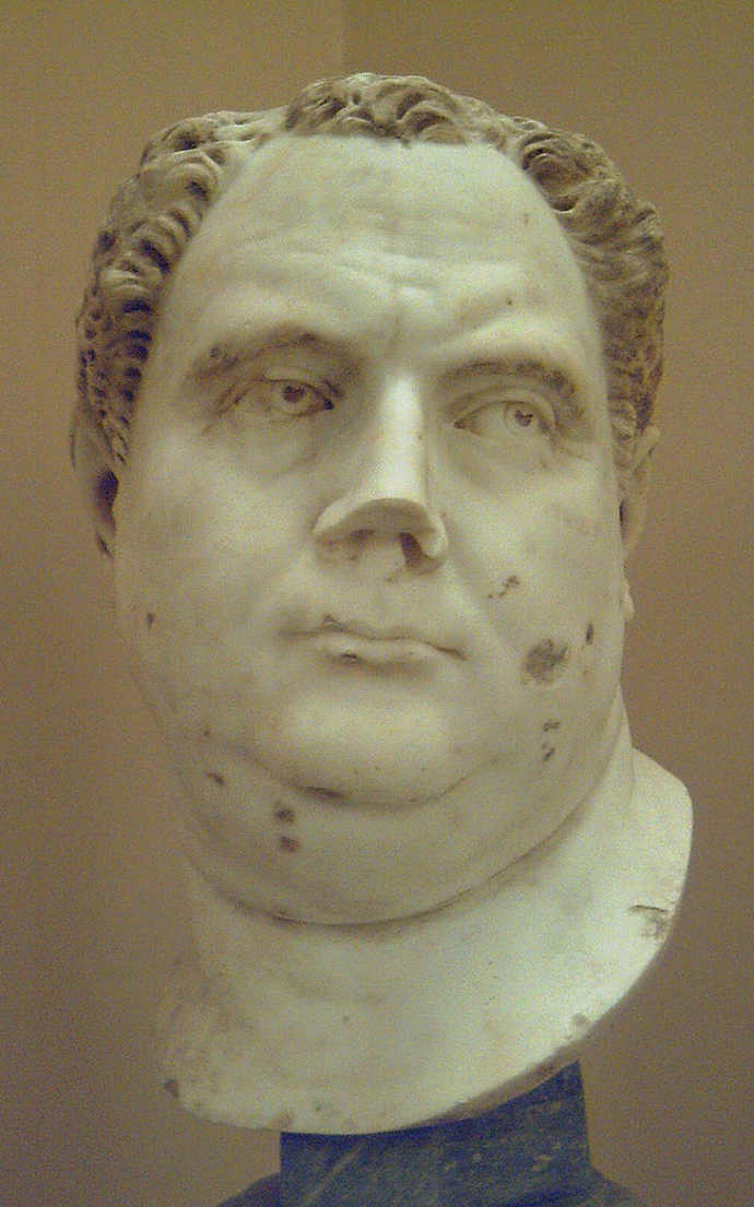 Ancient Roman Emperor Vitellius