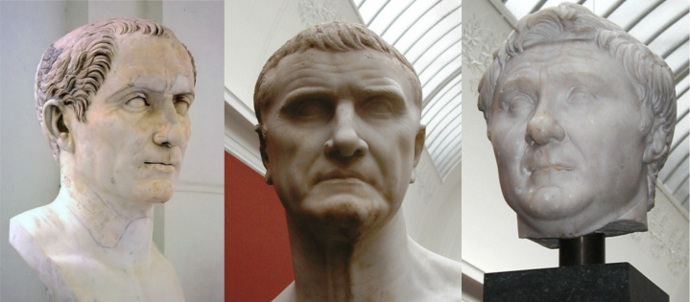 The First Triumvirate of Caesar, Crassus and Pompey