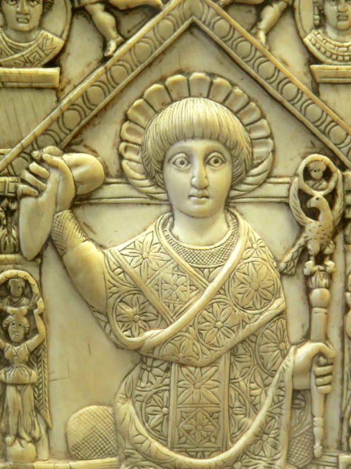 A Roman in consular dress