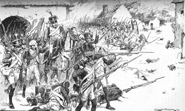 Austerlitz village reinforcements