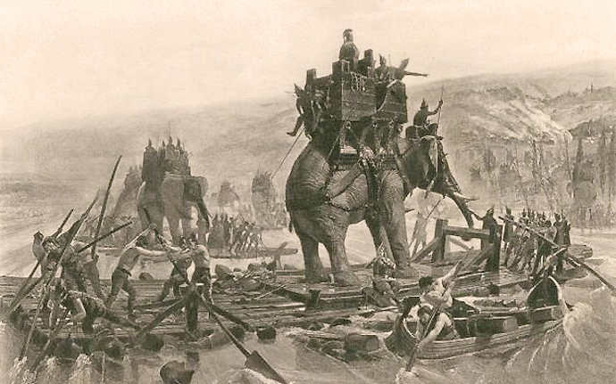 Carthiginian war Elephants