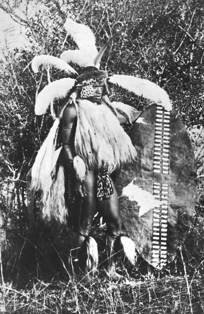 Young Zulu warrior