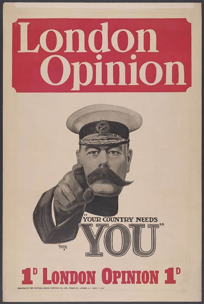 12 British Recruitment Posters From World War One History Hit