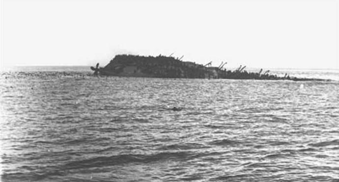 Lancastria-sinking