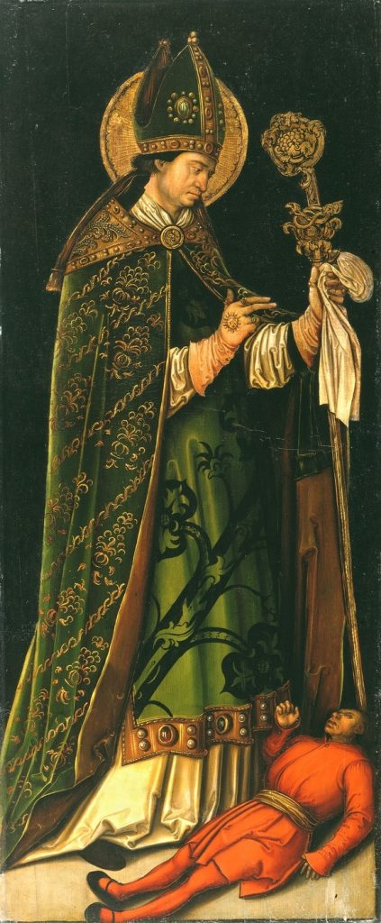 Leonhard Beck: Saint Valentine