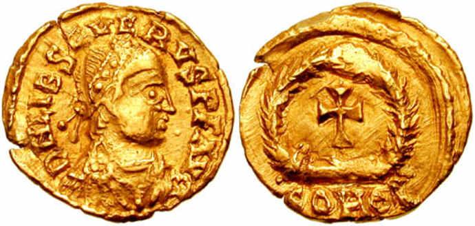 Coin of Libius Severus