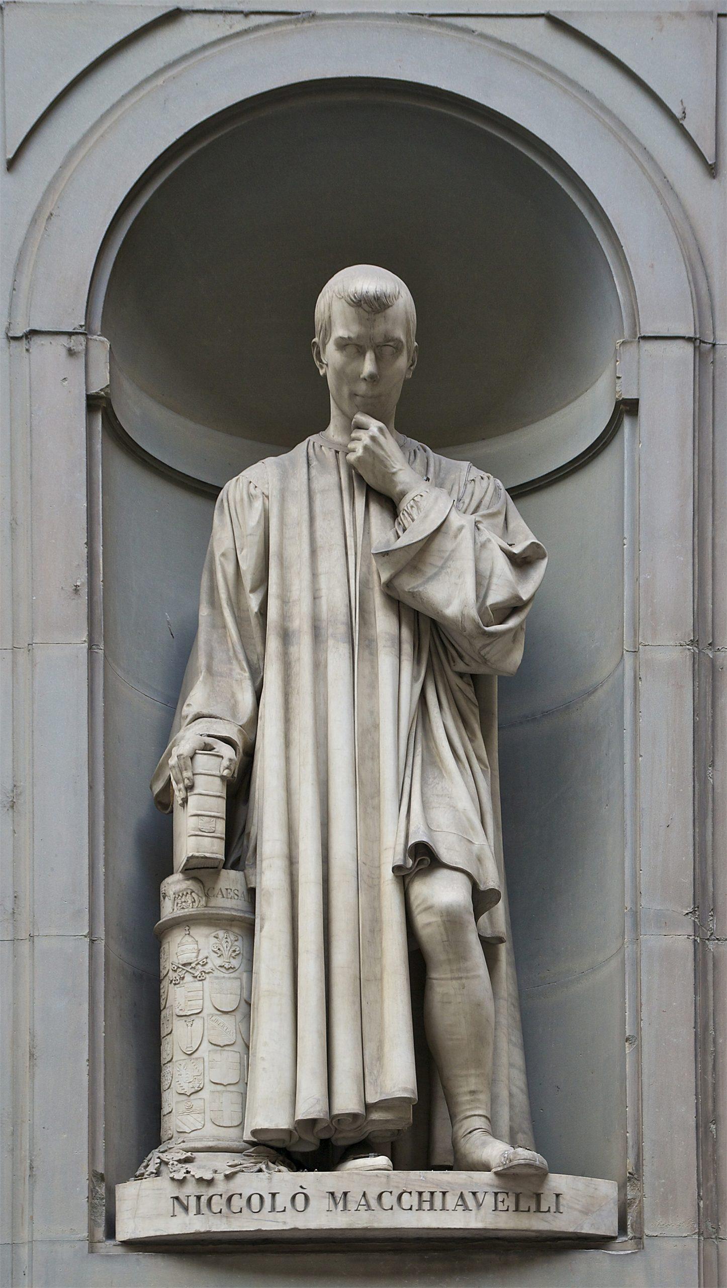 Statue of Niccolò Macchiavelli