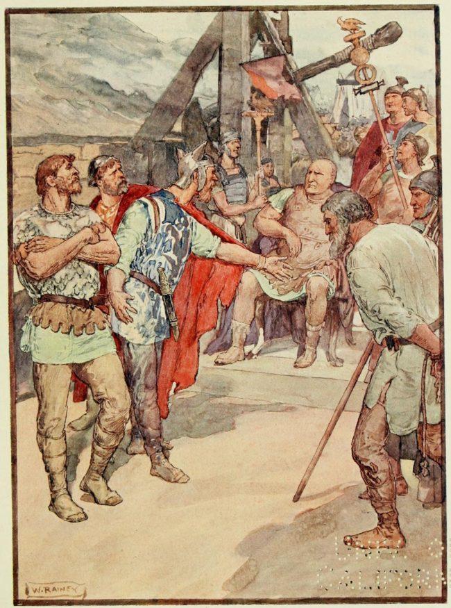 Marius and the Cimbri