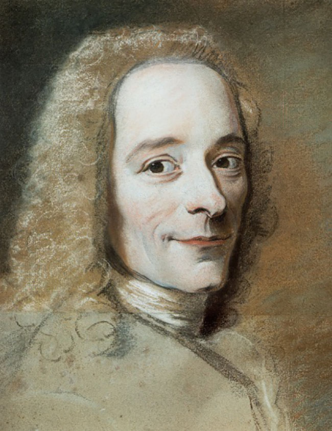 Voltaire in his youth.