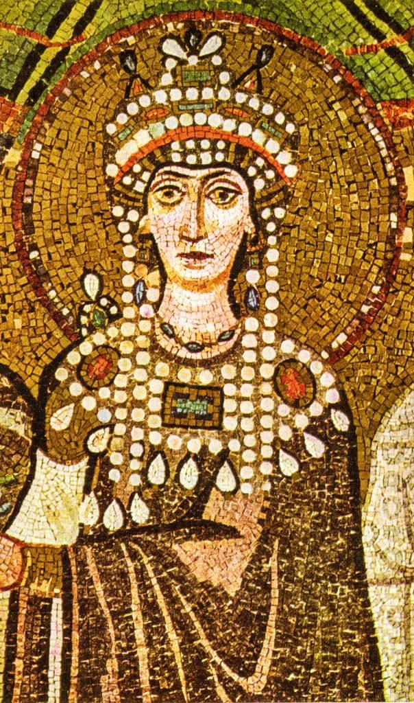 Mosaic of empress Theodora
