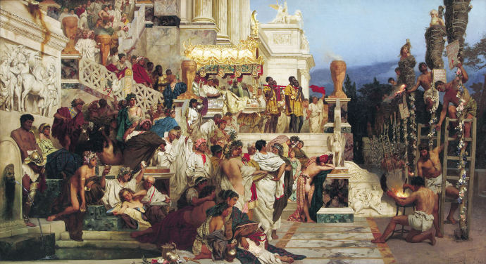 Nero's persecution of Christians