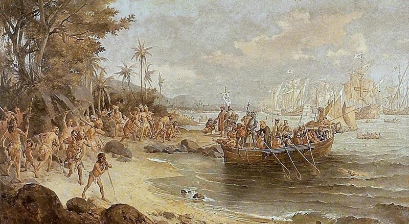 Oscar Pereira da Silva: Landing of Pedro Álvares Cabral in Porto Seguro