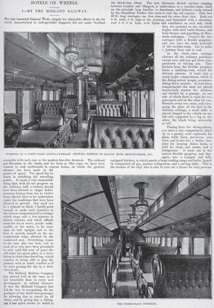 Train advert