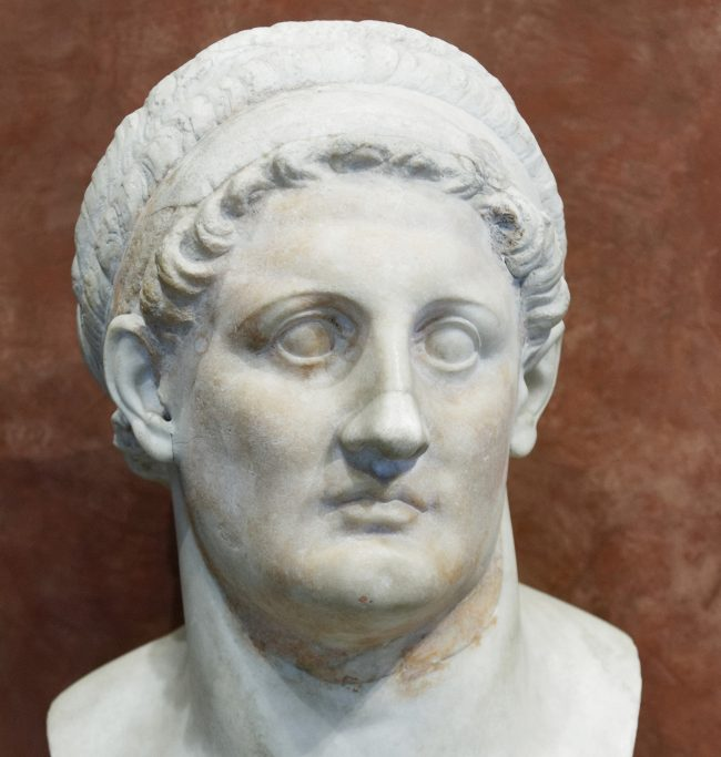 bust of Ptolemy