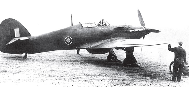 Hawker Hurricane Mk.IIB Z3263 of No. 402 Sqn at West Malling during 1942, flown by Sergeant E.W. Rolfe. This aircraft was gifted by the native chiefs of various tribes in Kenya and christened Mau Molo Ruri. It later went to Russia. (IWM CH 7676)