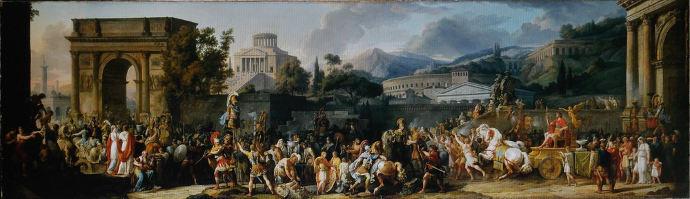 An Ancient Roman triumph