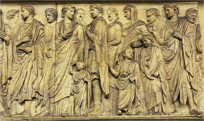 Ancient Roman citizens