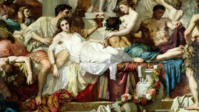 Ancient Roman decadence
