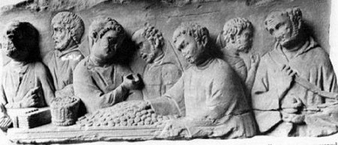 Roman tax collector.