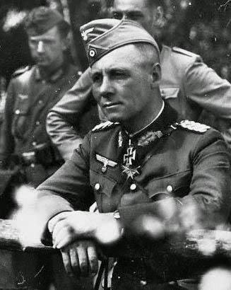 Rommel Wearing his Blue Max & Iron Cross
