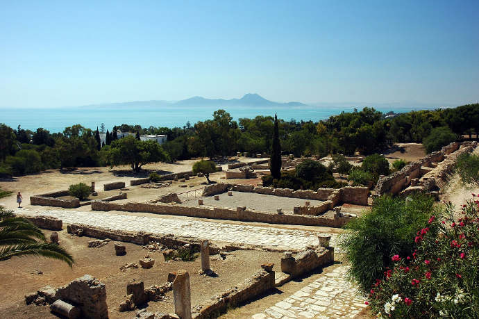 Ruins of Carthage near Tunis
