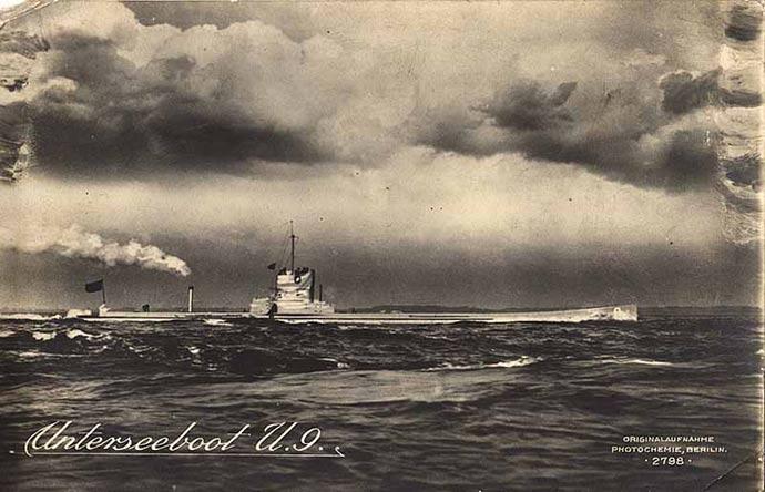 SM-U-9-boat