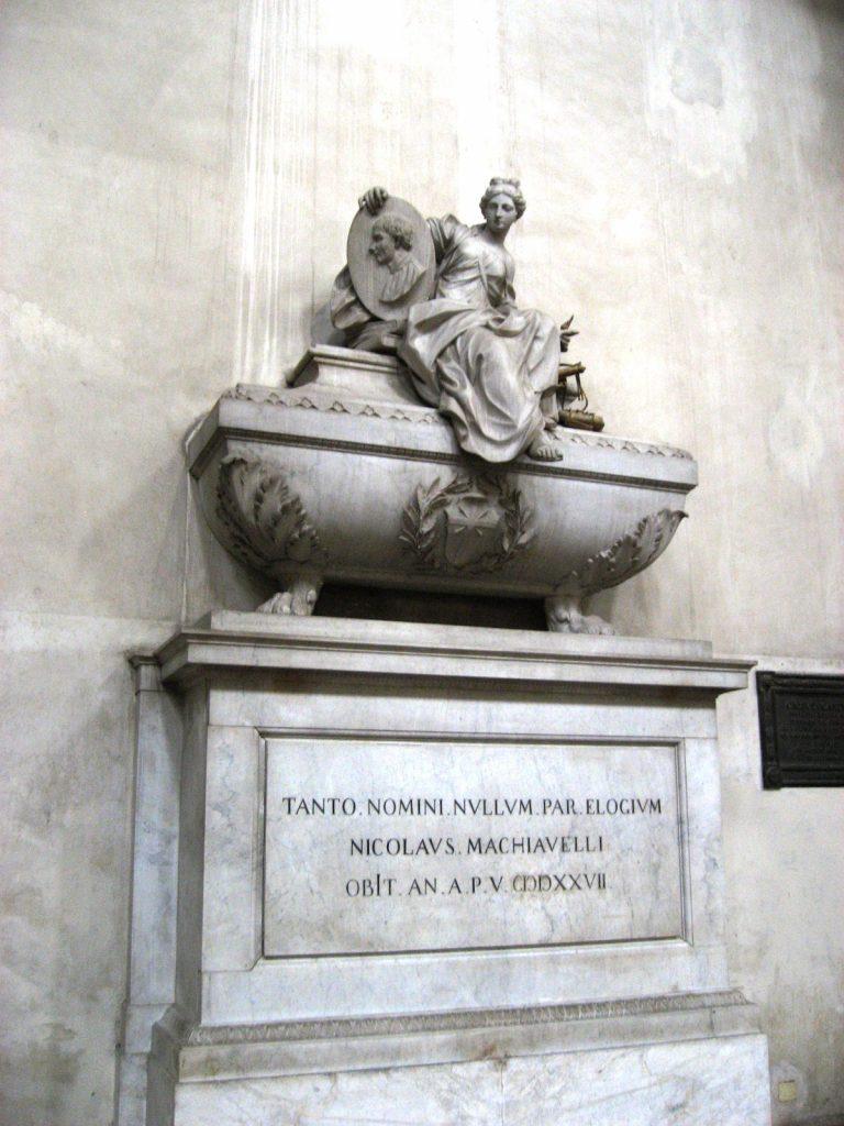 Machiavelli tomb