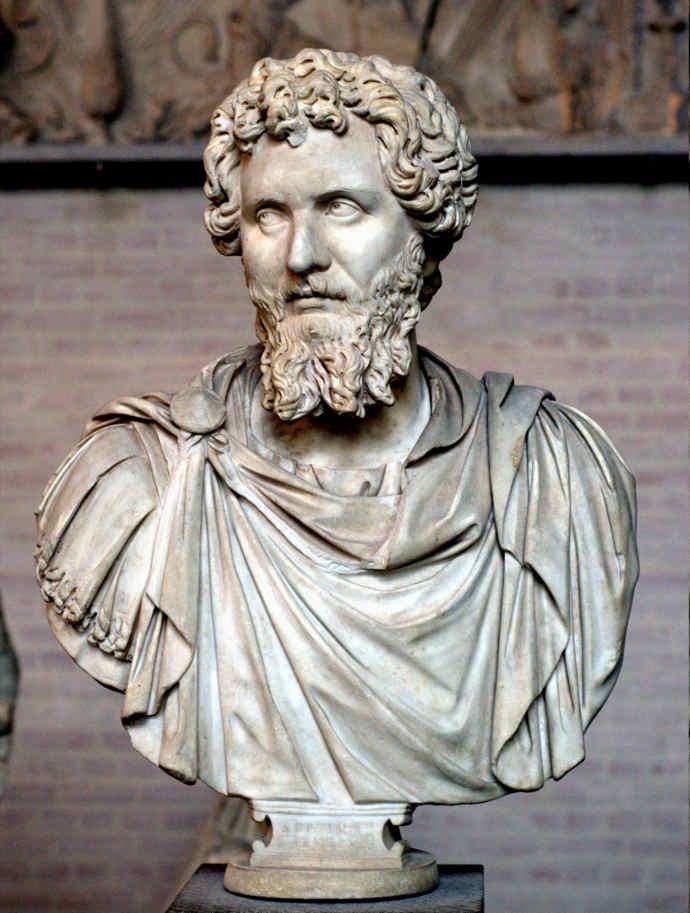Ancient Roman Emperor Septimius Severus