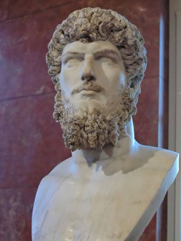 Bust of Tarquinius Superbus, last king of Rome.