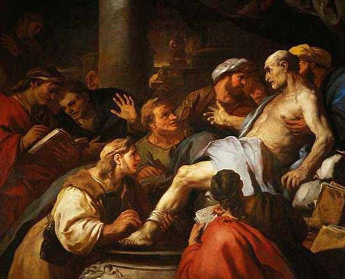Death of Roman dramatist Seneca