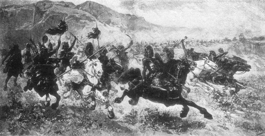 The Huns, led by Attila, invade Italy.
