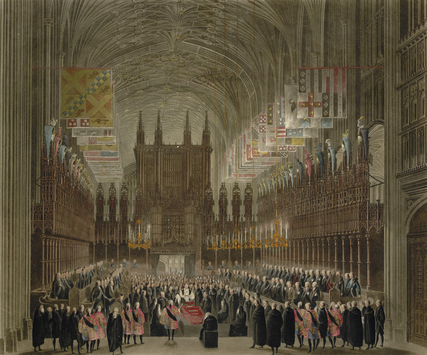 The Funeral Ceremony of the Princess Charlotte of Wales