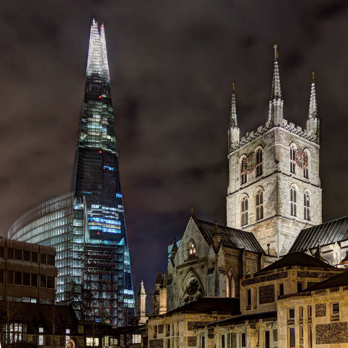 The_Shard_and_Southwark_Cathedral
