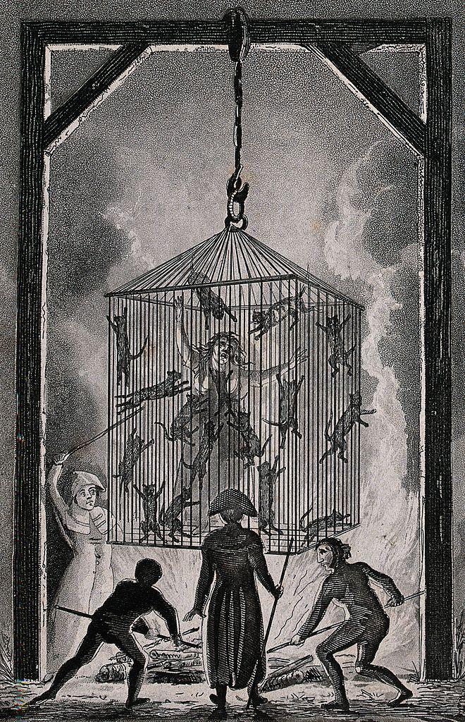 The burning of Louisa Mabree