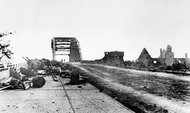 John Frost Bridge.