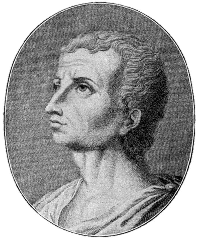 Fictional portrait of Titus Livius or Livy, the early Roman historian.