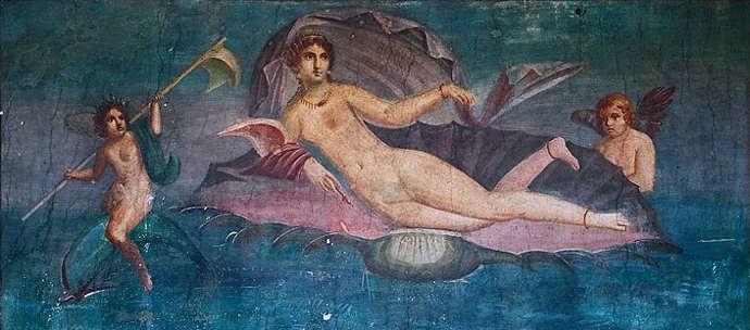 Roman depiction of Venus goddess of love