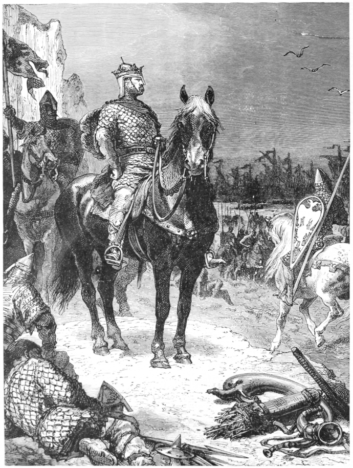 William the Conqueror after the Battle of Hastings.