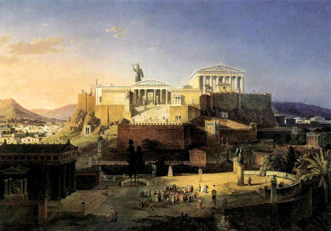 Athens and Acropolis