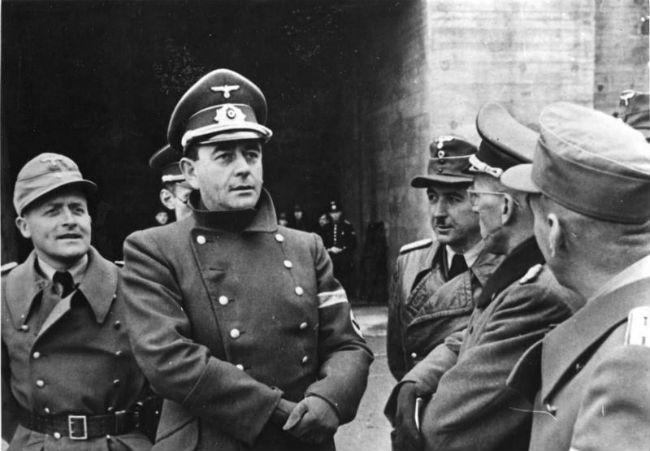 Albert Speer amongst other Nazis.