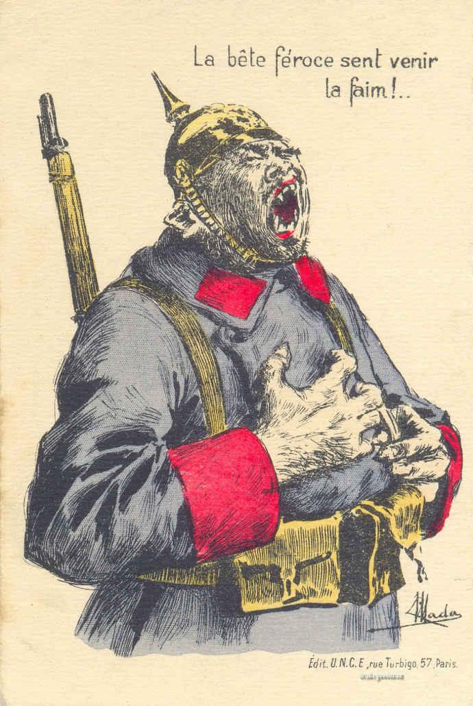 belgian ant german poster